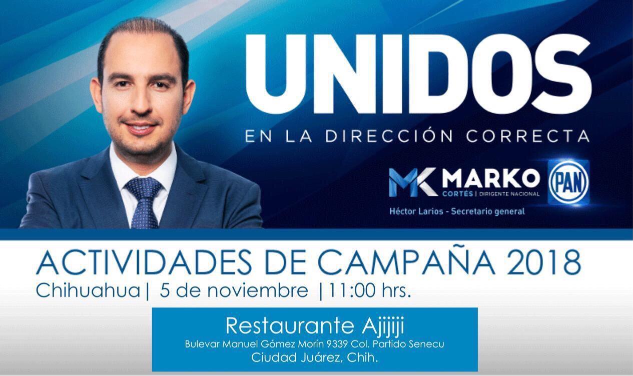 Marko cortes ciudad juarez