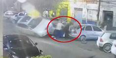Relacionada joven recibe balazo arrolla a 7 personas