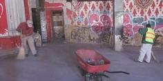 Relacionada limpian instalaciones del ex cine victoria 1