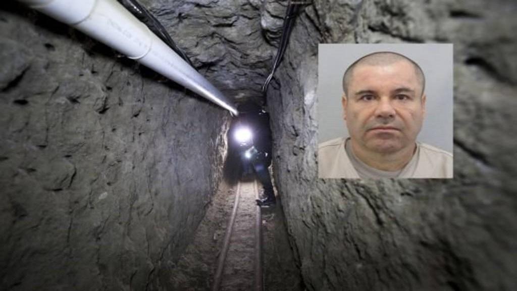 Tunel fuga del chapo