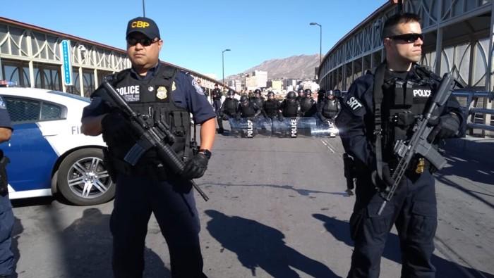 CBP cerró el Puente Santa Fe por simulacro — En vivo