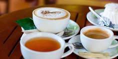 Relacionada cafe y te