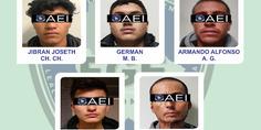 Relacionada cinco detenidos  2
