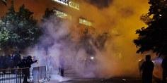 Relacionada 349646e300000578 3607997 riot police pepper spray trump protesters outside the albuquerqu a 40 1464151223452