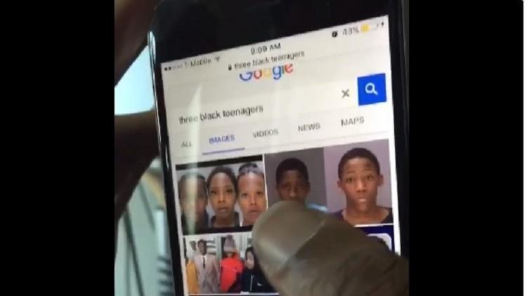 De adolescentes negros explotados por el tiempo