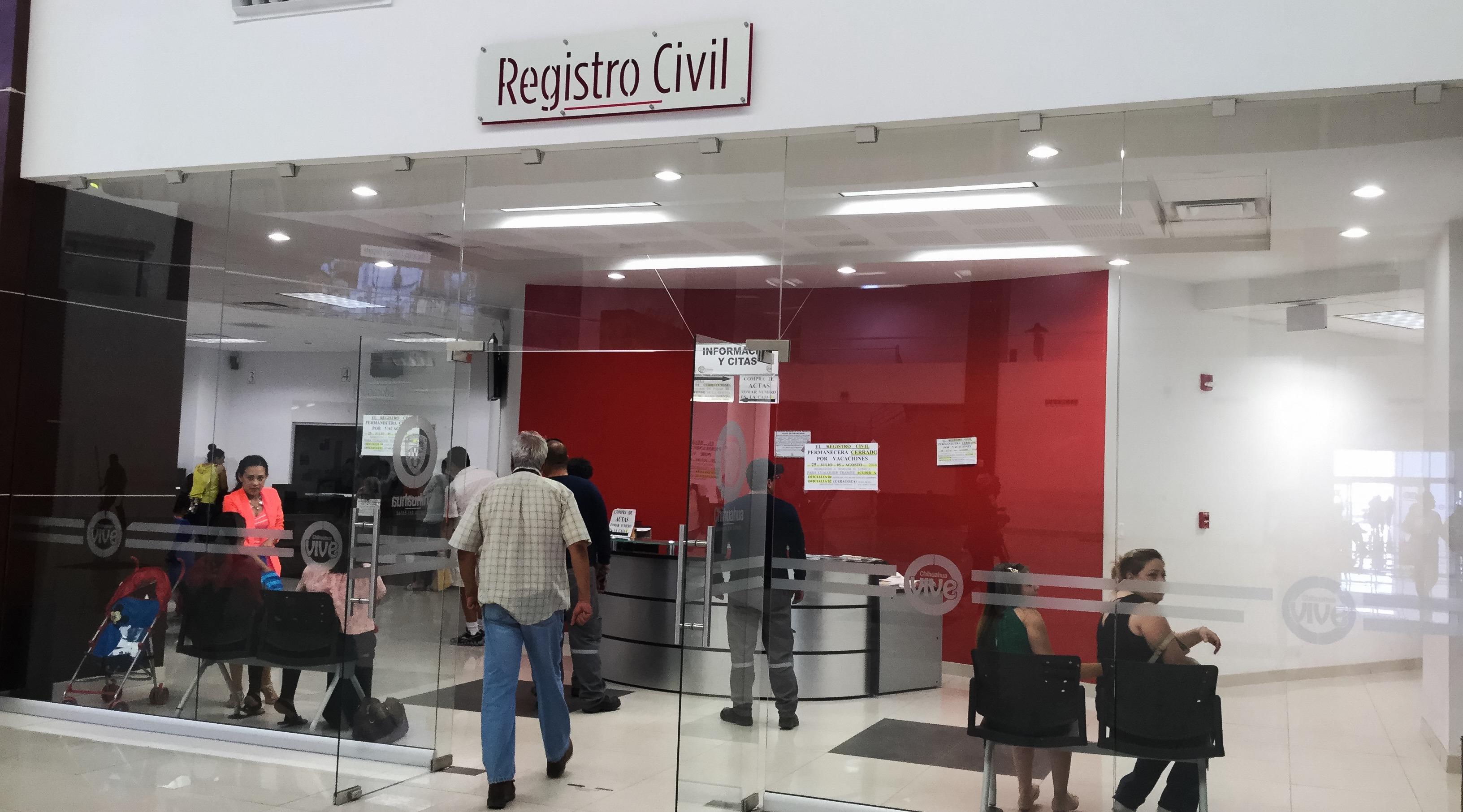 Cierra registro civil en pueblito mexicano por vacaciones for Oficinas registro civil