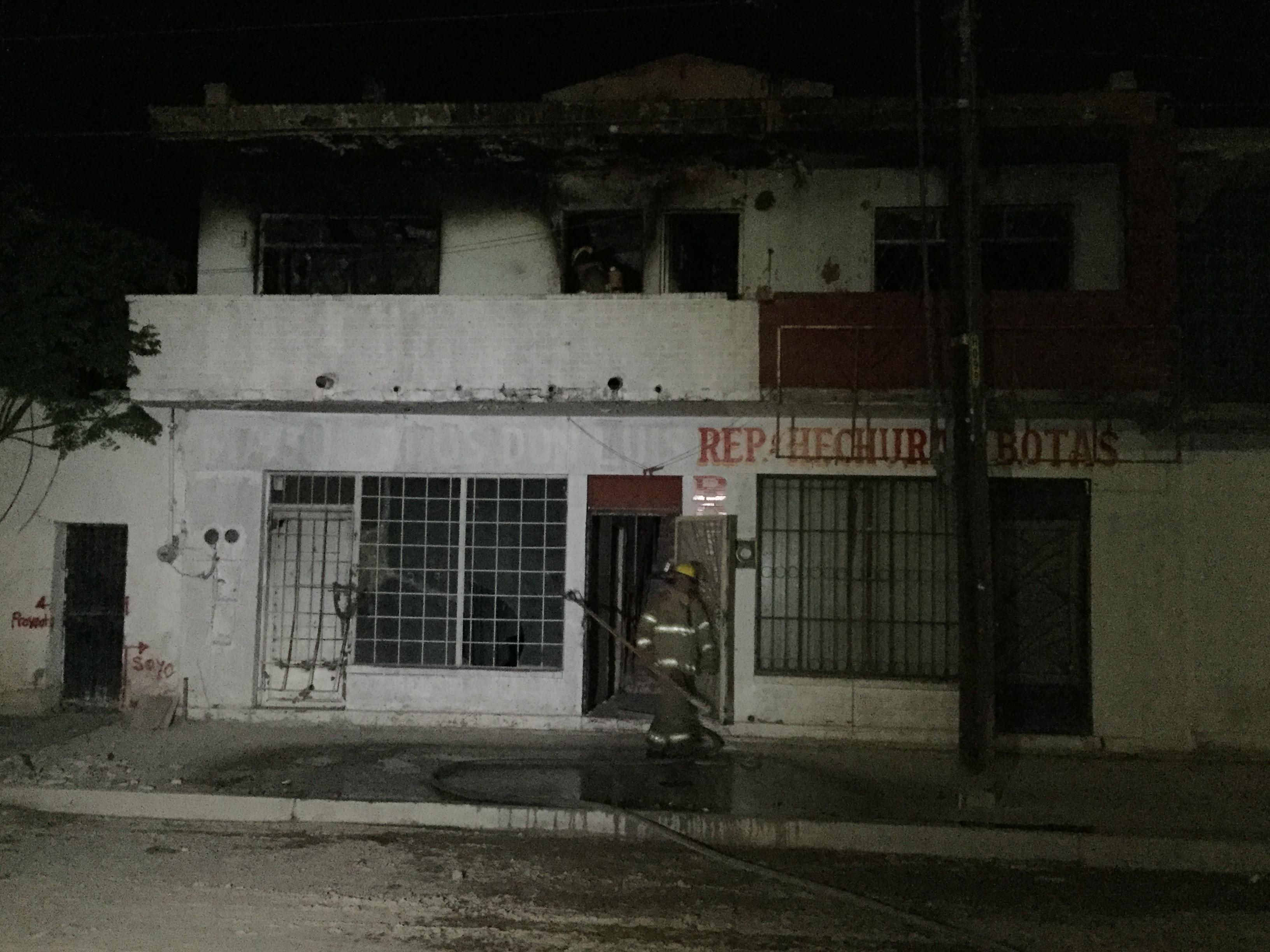 Incendio consumi casa habitaci n en la zona centro tiempo for Gimnasio zona centro
