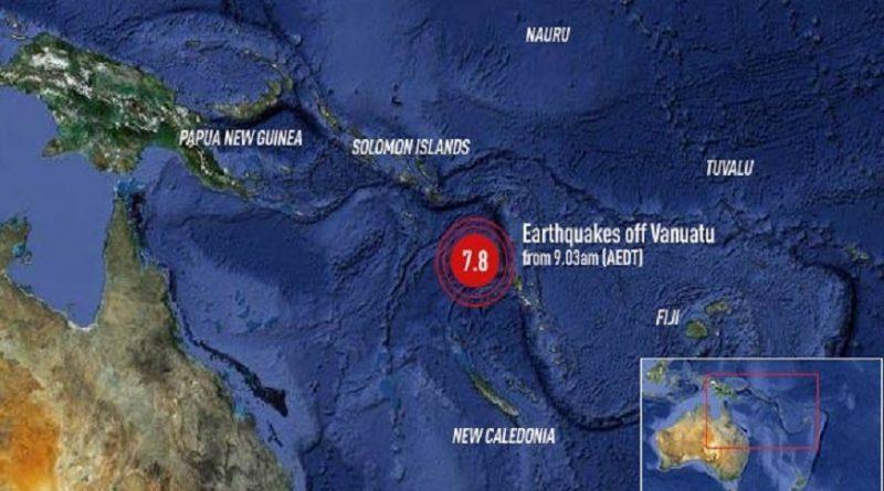 Sismo de 7,6 grados en el Pacífico Sur generó alerta de tsunami