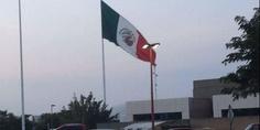 Relacionada bandera de mexico al reves