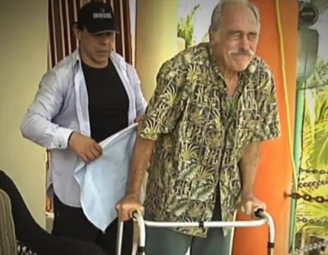 Andrés García vive terribles dolores tras caída, por lo que ¡considera suicidarse!