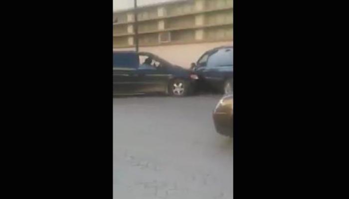 Chocó la camioneta de su ex pareja, le apodan #LadyCelos