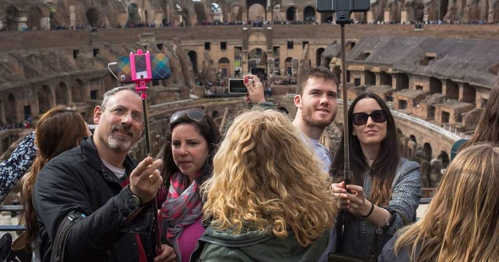 ¿Tomarse una selfie sin usar las manos?