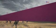 Relacionada pink border wall in the desert e1477594994422