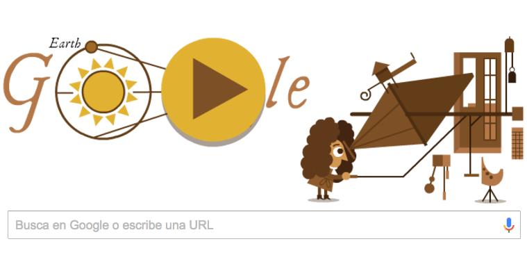 Resultat d'imatges de doodle google Ole Römer