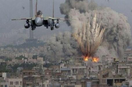 Ataque aereo de israel en gaza 456x300