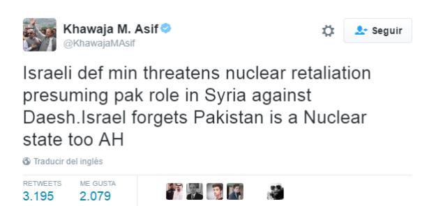 Israel y pakist n en relaci n tensa es completamente falso - Tiempo en pakistan ...