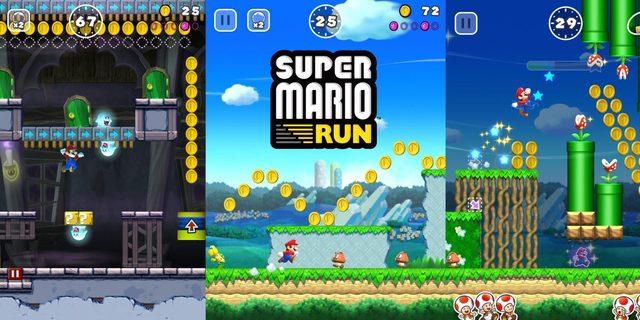 Super mario run videojuego