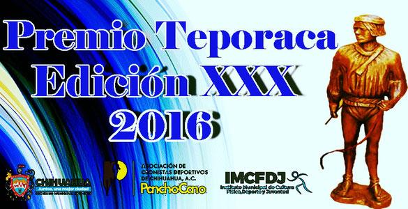 Logo teporaca 2016