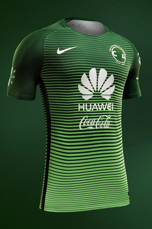 Presenta am rica su tercer uniforme verde de leyenda for Cuarto uniforme del america