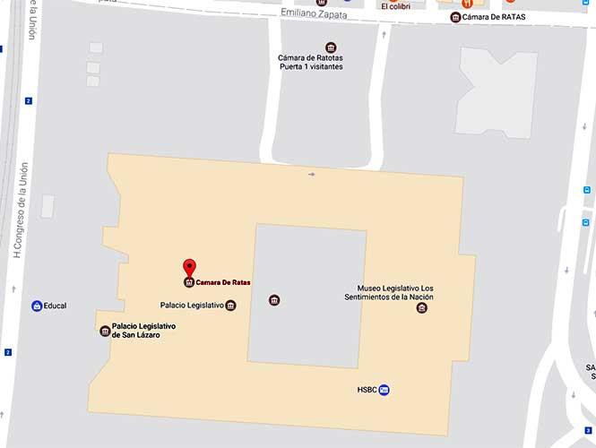 Hackean Google Maps y cambian nombre de Los Pinos