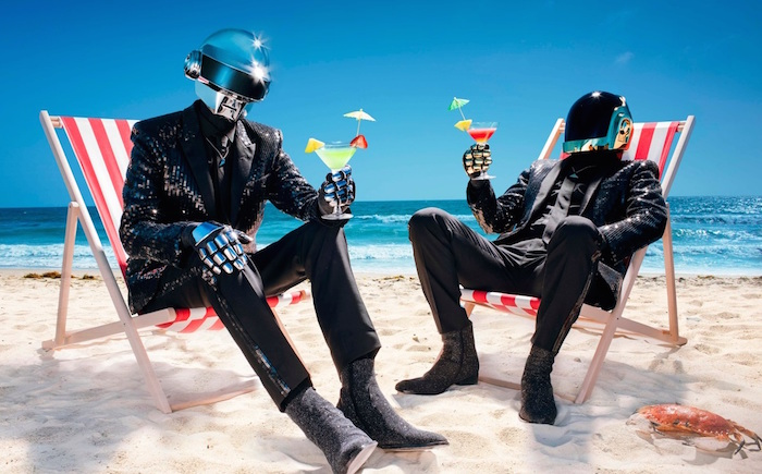 Daft punk beach cocktails