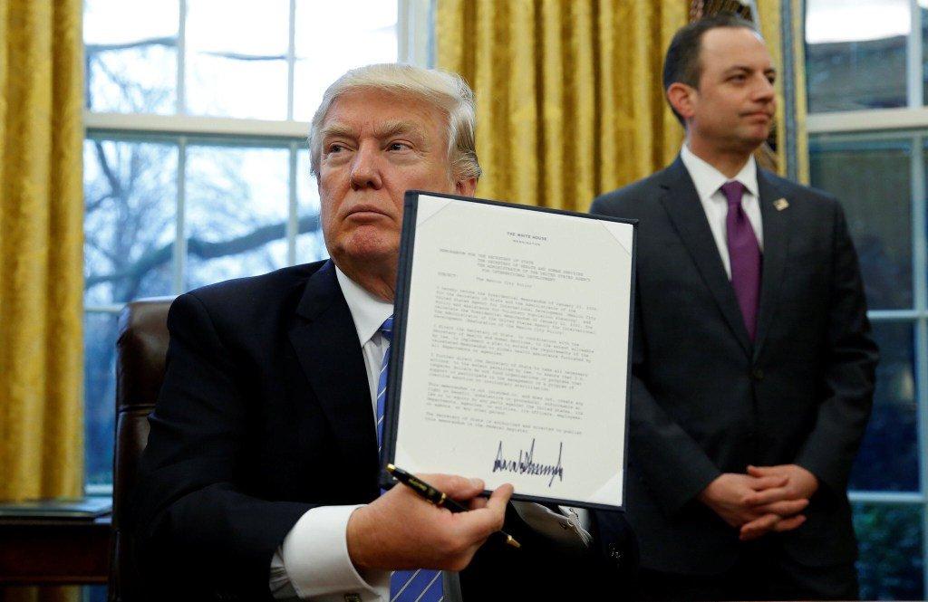 Trump exceutive order