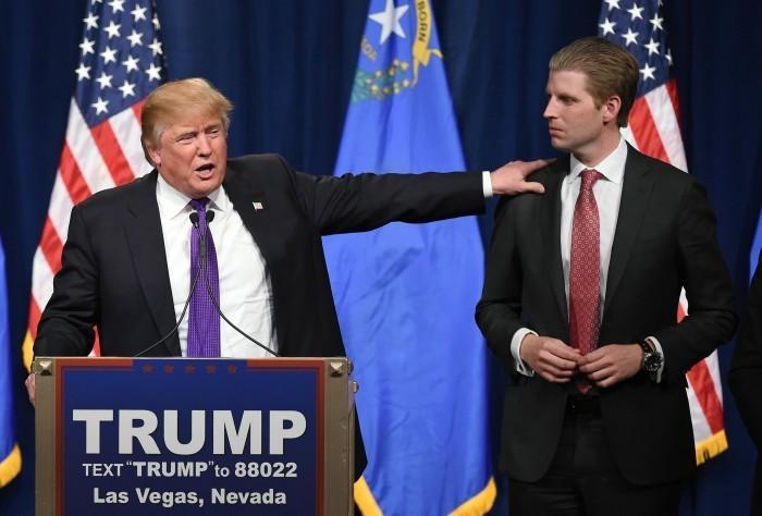 Prensa de EEUU critica costos de viaje de Eric Trump a Uruguay