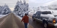 Relacionada nieve basaseachi