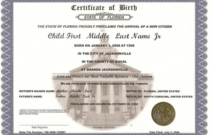 Estados Unidos: actas mencionan padre y madre y ¡hasta los felicitan ...