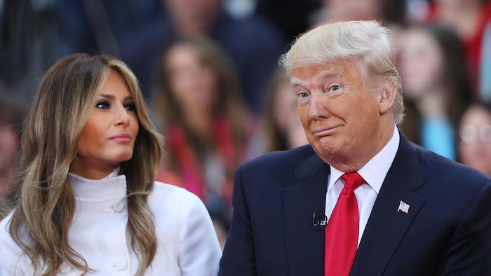 Vidente predice infidelidad en el matrimonio trump